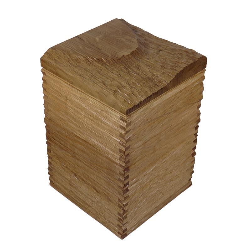 Eichenholz Urne