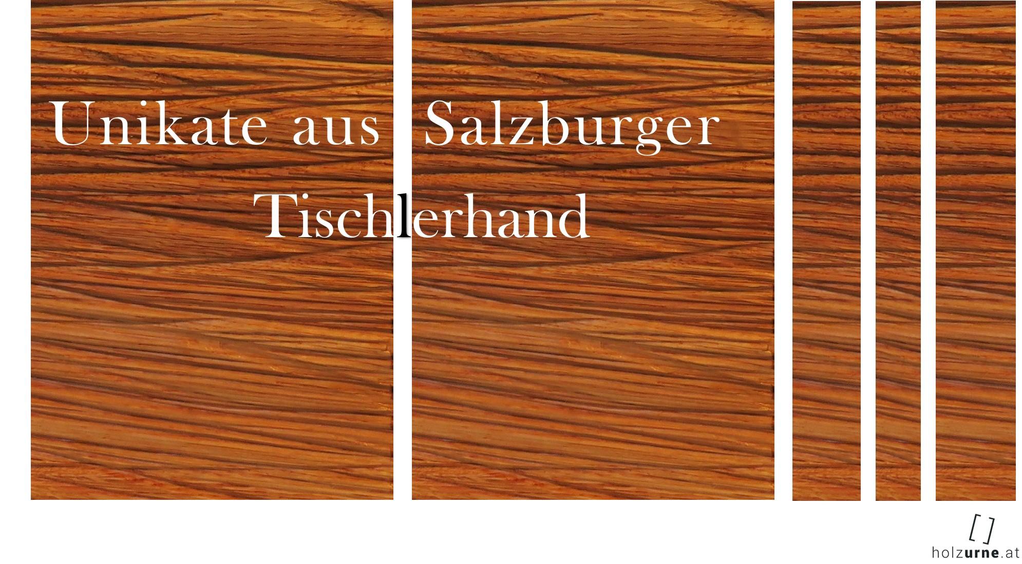 Urne aus Salzburger Tischlerhand